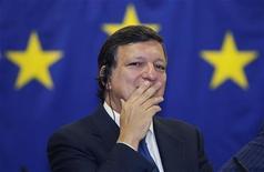 <p>Barroso in una foto d'archivio. REUTERS/Francois Lenoir (BELGIUM POLITICS HEADSHOT)</p>