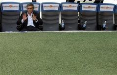 <p>Jose Mourinho in una foto d'archivio. REUTERS/Alessandro Garofalo (ITALY SPORT SOCCER)</p>