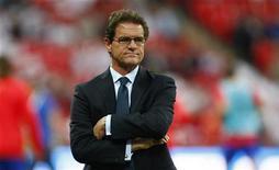 <p>Fabio Capello, commissario tecnico della nazionale inglese. REUTERS/ Eddie Keogh (BRITAIN SPORT SOCCER)</p>