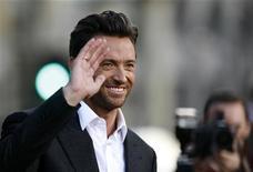 <p>L'attore Hugh Jackman ha interrotto lo spettacolo in cui stava recitando perché un cellulare squillava. REUTERS/Mario Anzuoni</p>