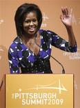 <p>A primeira-dama dos EUA Michelle Obama promete lutar para Chicago sediar os Jogos de 2016 REUTERS/Jim Young (UNITED STATES POLITICS BUSINESS)</p>