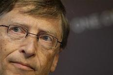 <p>Microsoft founder Bill Gates attends a news conference at the launch of the 2009 DATA (Debt, AIDS, Trade, Africa) Report in London June 11, 2009. REUTERS/Stefan Wermuth</p>