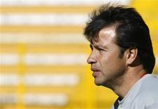 <p>O técnico boliviano Erwin Sánchez diz que preparou seu time para vencer o Brasil REUTERS/David Mercado (BOLIVIA)</p>