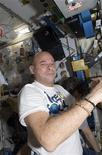 <p>Canadian spaceflight participant Guy Laliberte is pictured in the Unity node of the International Space Station in this photo taken October 5, 2009 and released by NASA October 8, 2009. REUTERS/NASA/Handout</p>