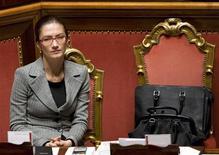 <p>Il ministro dell'Istruzione Mariastella Gelmini. REUTERS/Tony Gentile</p>