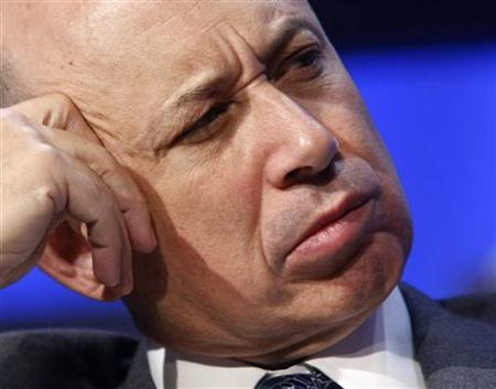 Goldman Sachs Group CEO Lloyd Blankfein in Davos, January 24, 2008. REUTERS/Wolfgang Rattay
