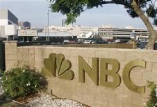 <p>General Electric étudie différents scénarios concernant l'avenir de NBC Universal afin d'être prêt dans l'éventualité où Vivendi, son partenaire minoritaire dans le groupe de médias, choisirait de céder sa participation de 20%. /Photo d'archives/REUTERS/Fred Prouser</p>