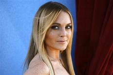 <p>Adolescente é acusado de assaltar casa de Lindsay Lohan, em foto de arquivo, em Los Angeles. REUTERS/Mario Anzuoni/Files</p>