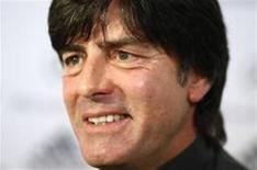 <p>O ténico da seleção da Alemanha, Joachim Loew, diz estar feliz que a Argentina tenha concordado com amistoso. Para ele, a equipe argentina é uma das mais fortes do mundo. REUTERS/Christian Charisius</p>