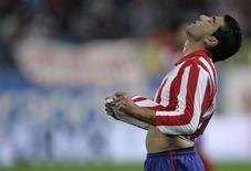 <p>José Antonio Reyes, do Atlético Madrid, durante o jogo contra o Real Mallorca, em Madrid. REUTERS/Dani Cardona</p>