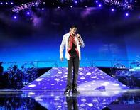 "<p>A scene from the Michael Jackson documentary ""This Is It"". REUTERS/Sony Pictures/Handout</p>"