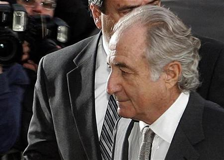Accused swindler Bernard Madoff enters the Manhattan federal court house in New York, March 12, 2009. REUTERS/Shannon Stapleton