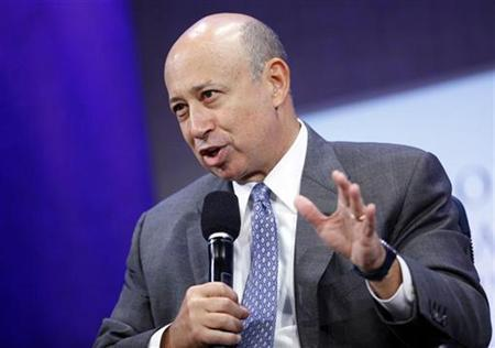 Lloyd Blankfein, Chairman and CEO of Goldman Sachs, speaks during a panel discussion at the Clinton Global Initiative in New York September 23, 2009. REUTERS/Chip East