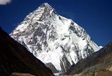 <p>Un'immagine d'archivio del K2.</p>