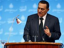 <p>Mubarak in una foto d'archivio. REUTERS/Amr Abdallah Dalsh (EGYPT POLITICS)</p>