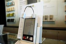 <p>Nook, l'e-reader di Barnes & Noble. REUTERS/Shannon Stapleton (UNITED STATES MEDIA BUSINESS)</p>