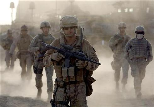 Who's in Afghanistan?