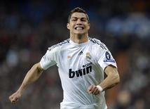 <p>Cristiano Ronaldo, do Real Madrid, é visto durante jogo da Liga dos Campeões contra o FC Zurich, em Madri, na Espanha, nesta quarta-feira. REUTERS/Felix Ordonez</p>