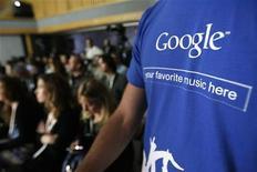 <p>Il logo di Google. REUTERS/Mario Anzuoni</p>