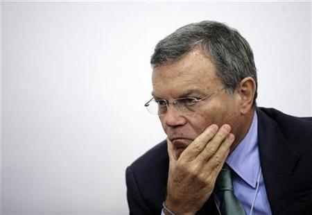 Martin Sorrell, Chief Executive Officer of WPP Group, pauses at the World Economic Forum annual meeting of the New Champions, in China's port city Dalian, September 10, 2009. REUTERS/Jason Lee