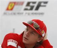 <p>L'ex pilota di Formula Uno Kimi Raikkonen. REUTERS/Toru Hanai</p>