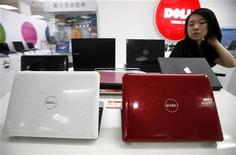 <p>Computer della Dell in un negozio. REUTERS/David Gray</p>