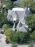 <p>La casa del golfista Tiger Woods a Windermere, Florida. REUTERS/Rick Fowler</p>