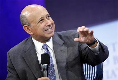 Lloyd Blankfein, Chairman and CEO of Goldman Sachs, participates in a panel discussion at the Clinton Global Initiative in New York September 23, 2009. REUTERS/Chip East
