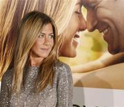 "<p>Jennifer Aniston surpreende em ""O Amor Pede Passagem"". REUTERS/Fred Prouser</p>"