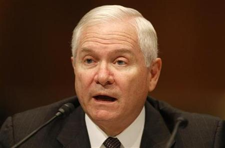 U.S. Secretary of Defense Robert Gates testifies at a Senate Armed Services Committee hearing on Afghanistan on Capitol Hill in Washington, December 2, 2009. REUTERS/Jason Reed
