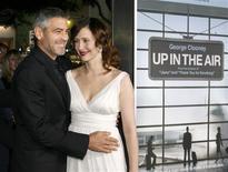 """<p>""""Amor Sem Escalas"""", com George Clooney no papel de um homem que ganha a vida despedindo pessoas, recebeu seis indicações - incluindo a de melhor drama - ao Globo de Ouro na terça-feira, marcando o início para valer da temporada de premiações em Hollywood. (Foto Arquivo Reuters) REUTERS/Fred Prouser</p>"""