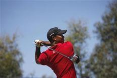 <p>Tiger Woods lo scorso 15 novembre agli Australian Masters di golf a Melbourne. REUTERS/Mick Tsikas</p>