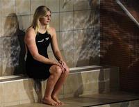 <p>A nadadora britânica bicampeã olímpica Rebecca Adlington disse que está determinada a melhorar seu desempenho em 2010, após uma queda de rendimento depois dos triunfos na Olimpíada de Pequim, em 2008.REUTERS/Russell Cheyne</p>