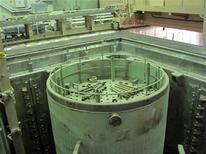 <p>Один из залов АЭС в Бушере 30 ноября 2009 года. Иран опроверг сообщение СМИ о том, что он близок к заключению сделки о ввозе 1.372 тонн очищенной урановой руды из Казахстана, чтобы пополнить истощившиеся запасы. REUTERS/Vladimir Soldatkin</p>
