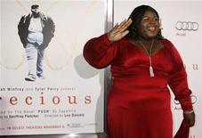 "<p>Actress Gabourey Sidibe, star of the new film ""Precious: Based on the novel 'Push' by Sapphire"", poses at the AFI Fest 2009 gala screening of the film in Hollywood November 1, 2009. REUTERS/Fred Prouser</p>"