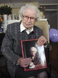 <p>Miep Gies, the last survivor of a group that helped Anne Frank and her family hide from the Nazis in Amsterdam during World War Two and kept her diaries, is seen in this February 2009 file photo. REUTERS/Teresien da Silva-Anne Frank House/Handout</p>