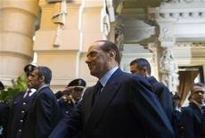 <p>Il presidente del Consiglio Silvio Berlusconi. REUTERS/Max Rossi</p>