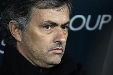 <p>José Mourinho in foto d'archivio. REUTERS/Tony Gentile</p>