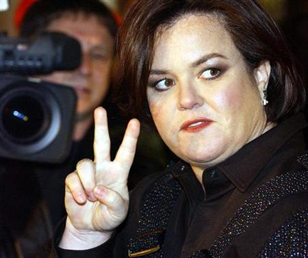 Rosie O'Donnell is shown in New York in this November 13, 2003 file photo.
