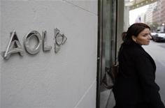 <p>La sede di AOL a New York. REUTERS/Shannon Stapleton (UNITED STATES BUSINESS SCI TECH EMPLOYMENT)</p>