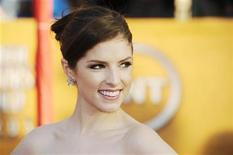 "<p>Anna Kendrick from the film ""Up in the Air"" on the red carpet at the 16th annual Screen Actors Guild Awards in Los Angeles, January 23, 2010. REUTERS/Phil McCarten</p>"