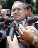 <p>Claudio Lotito in foto d'archivio. REUTERS/Dario Pignatelli</p>