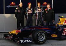 <p>Sebastian Vettel tem o título mundial em mente enquanto espera ansioso o dia em que poderá guiar o novo carro de Fórmula 1 da Red Bull pela primeira vez. REUTERS/Marcelo del Pozo (SPAIN - Tags: SPORT MOTOR RACING)</p>