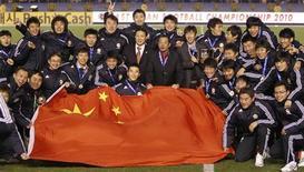 <p>A Coreia do Sul se impôs ao aguerrido Japão e venceu por 3 x 1 um tumultuado jogo com dois cartões vermelhos neste domingo, dando à China um surpreendente título no Campeonato do Leste Asiático. REUTERS/Toru Hanai (JAPAN - Tags: SPORT SOCCER)</p>
