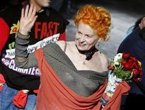 <p>Vivienne Westwood, icona della moda inglese, in una foto d'archivio. REUTERS/Alessia Pierdomenico</p>
