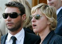<p>Ryan Seacrest and Ellen DeGeneres in a file photo. REUTERS/Fred Prouser</p>