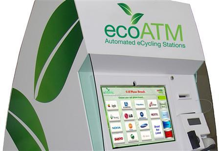 An ecoATM kiosk is pictured in this undated handout photo. REUTERS/Handout/ecoATM.com