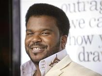 "<p>Cast member Craig Robinson attends the premiere of the film ""Zack and Miri Make a Porno"" in Los Angeles October 20, 2008. REUTERS/Phil McCarten</p>"