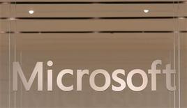<p>Microsoft a déclaré qu'il s'en tiendrait à sa stratégie de développement sur le marché des moteurs de recherche en Chine, quelle que soit l'issue du différend qui oppose Google au gouvernement chinois. /Photo d'archives/REUTERS/Joshua Lott</p>