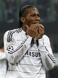 <p>Didier Drogba, do Chelsea, foi eleito Jogador Africano do Ano de 2009. REUTERS/Max Rossi</p>
